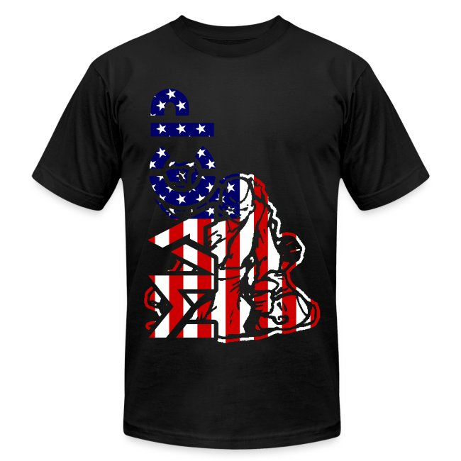 MACP Knee Fighter USA Flag Slim Fit