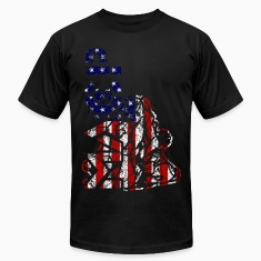 MACP Fighter Flag Distressed Slim Fit