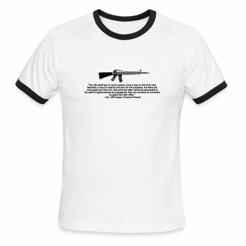 Gun Quote Ringer - Men's Ringer T-Shirt