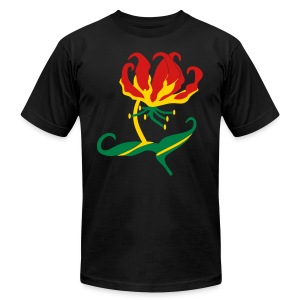 Flame Lily, Zimbabwe - Men's T-Shirt by American Apparel