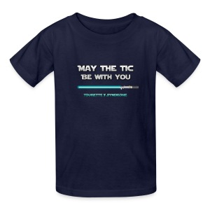 May the tic be with you - Tic Wars! - Kids' T-Shirt