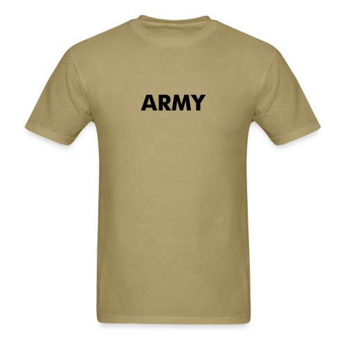 ARMY Shirts Khaki Army Logo T-Shirt - Men's T-Shirt