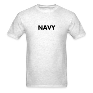 NAVY T-Shirt Military Logo Shirt - Men's T-Shirt