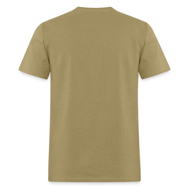 AMilitary Shirts Khaki NAVY Logo T-Shirt