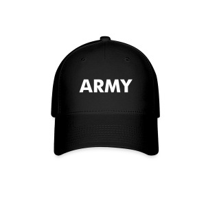 ARMY Baseball Caps Black/White - Baseball Cap