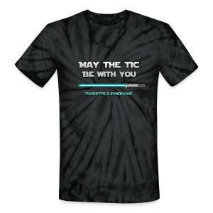 May the tic be with you - Tic Wars! - Unisex Tie Dye T-Shirt