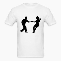 swing dancers T-Shirts