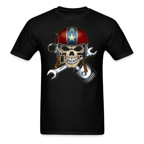 Rebel Ride - (black only)-(MSW) - Men's T-Shirt