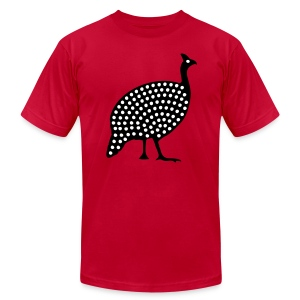 Guinea Fowl, Zimbabwe - Men's T-Shirt by American Apparel