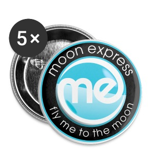 Moon Express Buttons - Small Buttons