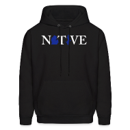 Hoodies ~ Men's Hoodie ~ Native Michigander