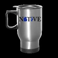 Mugs & Drinkware ~ Travel Mug ~ Native Michigander