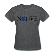 T-Shirts ~ Women's T-Shirt ~ Native Michigander