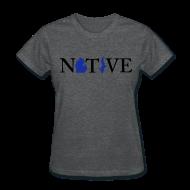 Women's T-Shirts ~ Women's T-Shirt ~ Native Michigander
