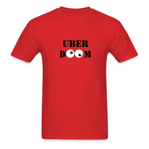 UberDoom Crazy eyes - Men's T-Shirt