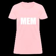 T-Shirts ~ Women's T-Shirt ~ White Text Logo Standard T-Shirt Female