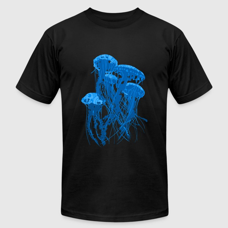 Jellyfish - Men's T-Shirt by American Apparel