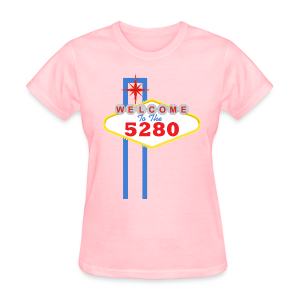 Welcome To The 5280 - Denver, CO - Ladies - Women's T-Shirt