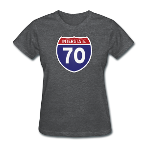 Interstate 70 - Ladies - Women's T-Shirt