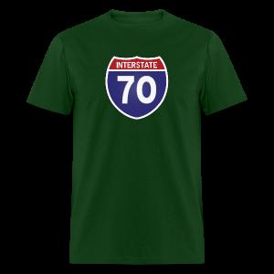Interstate 70 - Mens - Men's T-Shirt