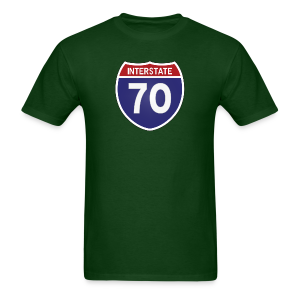Interstate 70 - Mens - Men's T-Shirt