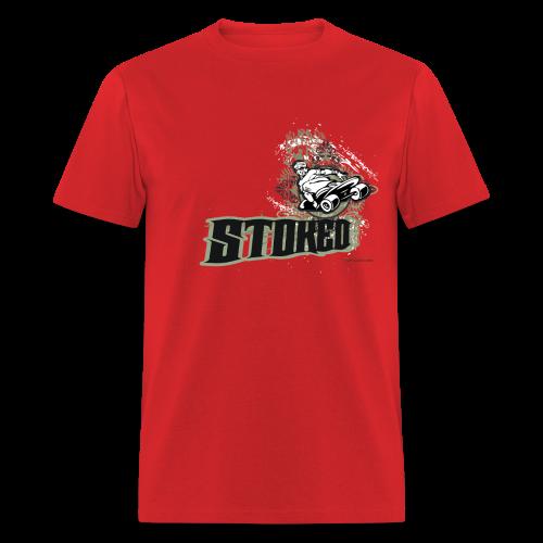 Skateboarding - Stoked - Men's T-Shirt