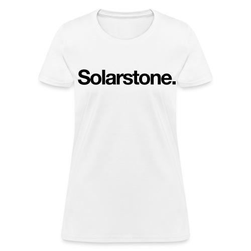 Solarstone (Reverse) [Female] - Women's T-Shirt