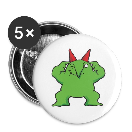 Just For Laughs Victor BOOM2 Buttons - Small Buttons