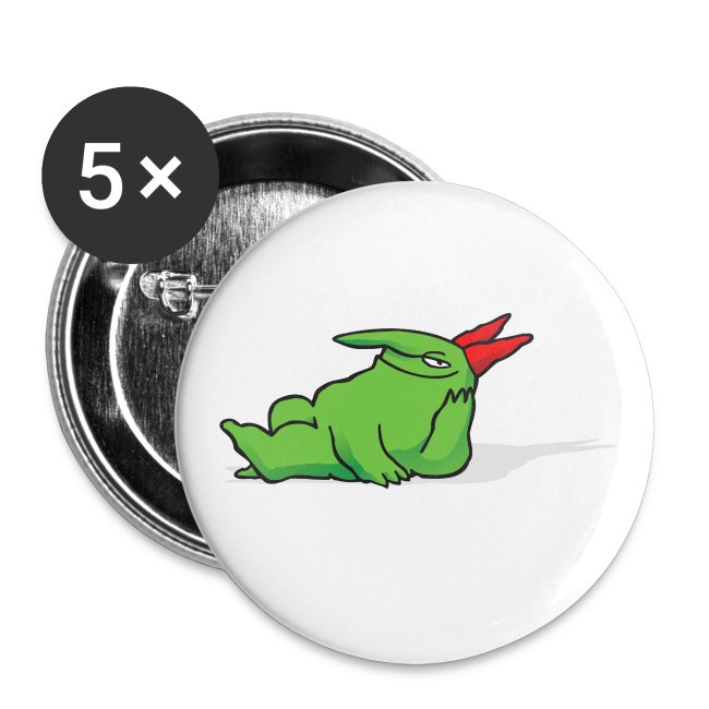 Just For Laughs Victor Chilling Out Buttons