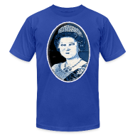 T-Shirts ~ Men's T-Shirt by American Apparel ~ Go Queen Go!