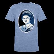 T-Shirts ~ Unisex Tri-Blend T-Shirt ~ Go Queen Go!