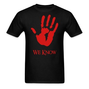 We Know Dark Brotherhood - Men's T-Shirt