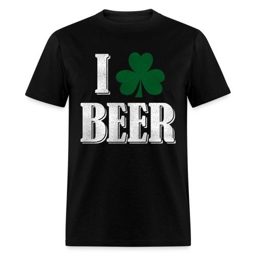 I Clover Beer - Men's T-Shirt