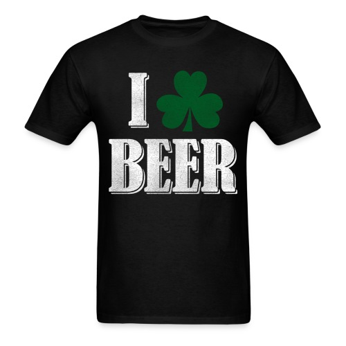 I Clover Beer - Men's T-Shirt