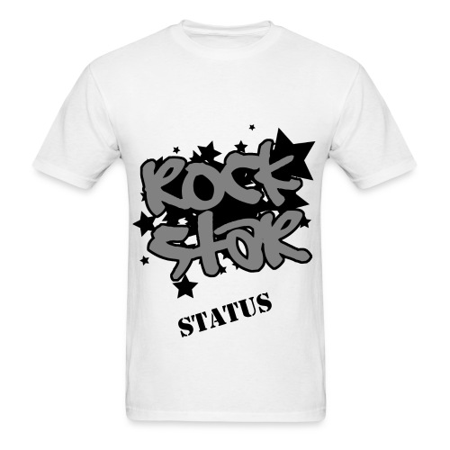 ROCK STAR STATUS (MEN) - Men's T-Shirt