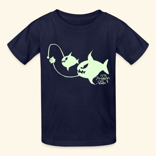 Eat or be eaten (glow in the dark) - Kids' T-Shirt
