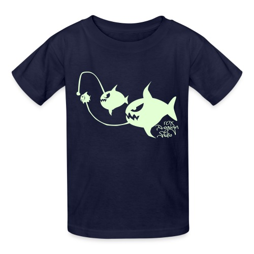 Eat or be eaten (glow in the dark) - Kids' T-Shirt