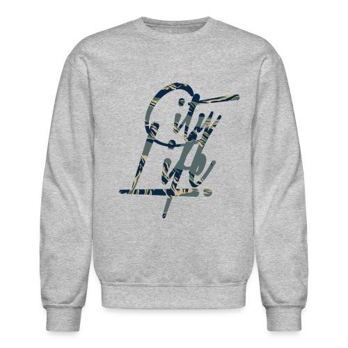 City Life (Camo) - Crewneck Sweatshirt