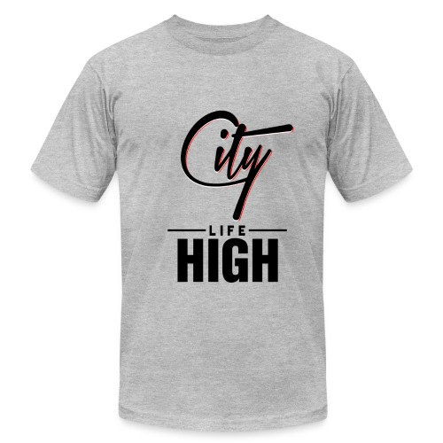 City High Life - Men's Fine Jersey T-Shirt