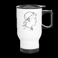 Mugs & Drinkware ~ Travel Mug ~ Travel Mug Side Portrait