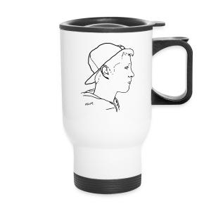 Travel Mug Side Portrait - Travel Mug