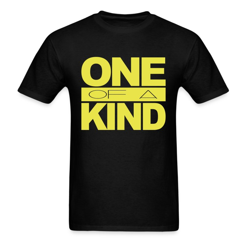 Men's One of a Kind Yellow Standard T-Shirt - Men's T-Shirt