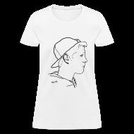 T-Shirts ~ Women's T-Shirt ~ Women's Side Portrait Standard T-Shirt