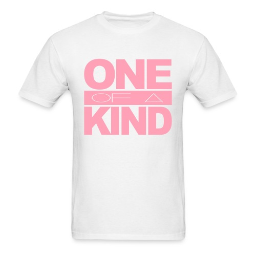 Men's One of a Kind Pink Standard T-Shirt - Men's T-Shirt