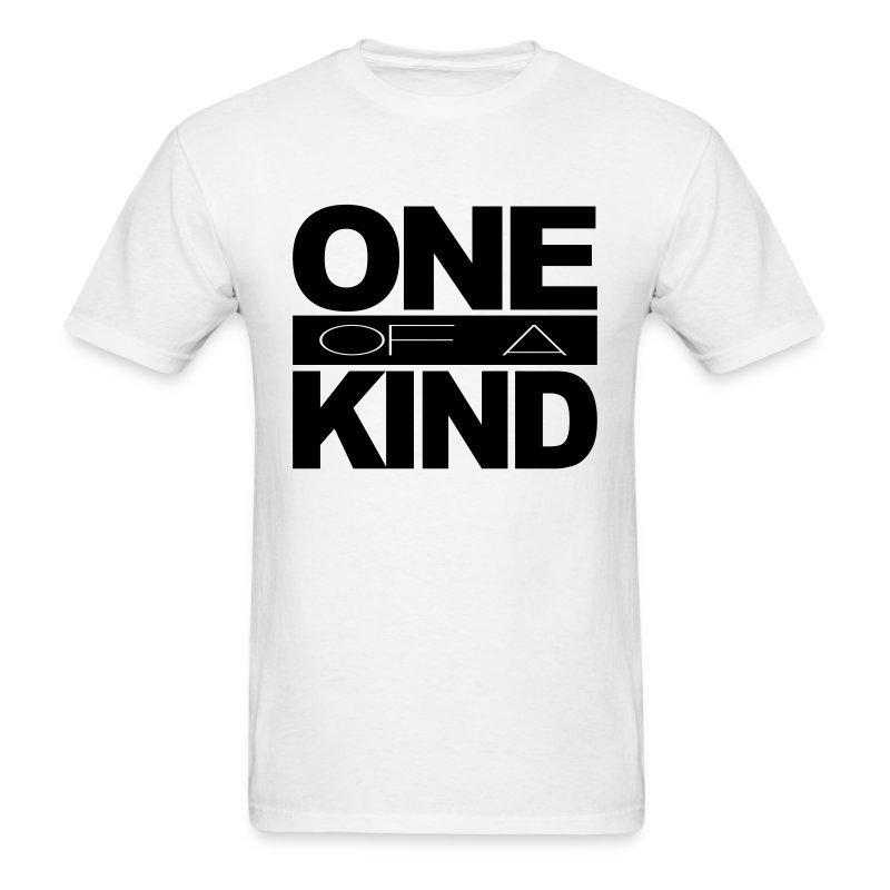 Men's One of a Kind Black Standard T-Shirt - Men's T-Shirt
