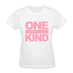 Women's One of a Kind Pink Standard T-Shirt - Women's T-Shirt