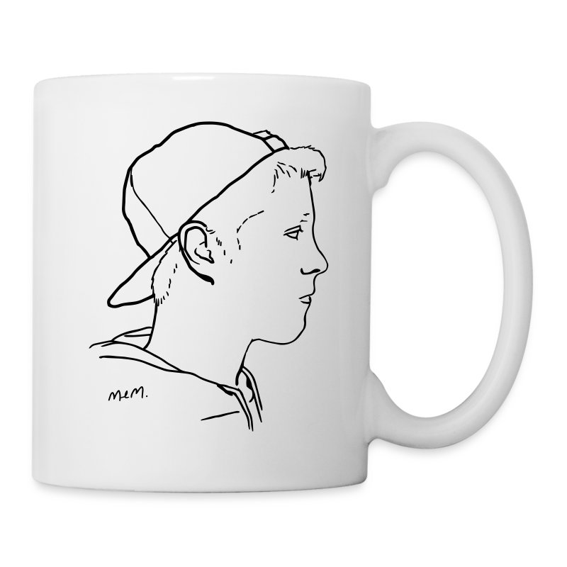 Side Portrait Mug - Coffee/Tea Mug
