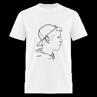 T-Shirts ~ Men's T-Shirt ~ Men's Side Portrait Standard T-Shirt