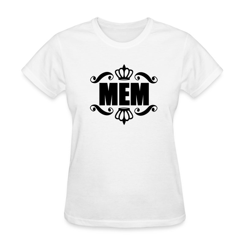 Women's Crested Black Standard T-Shirt - Women's T-Shirt