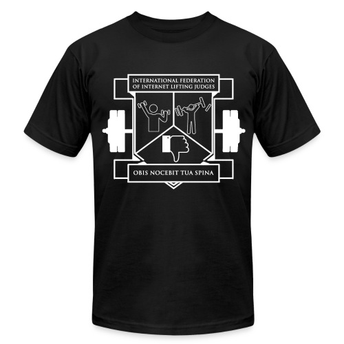 Mens IFILJ Tee - Men's Fine Jersey T-Shirt